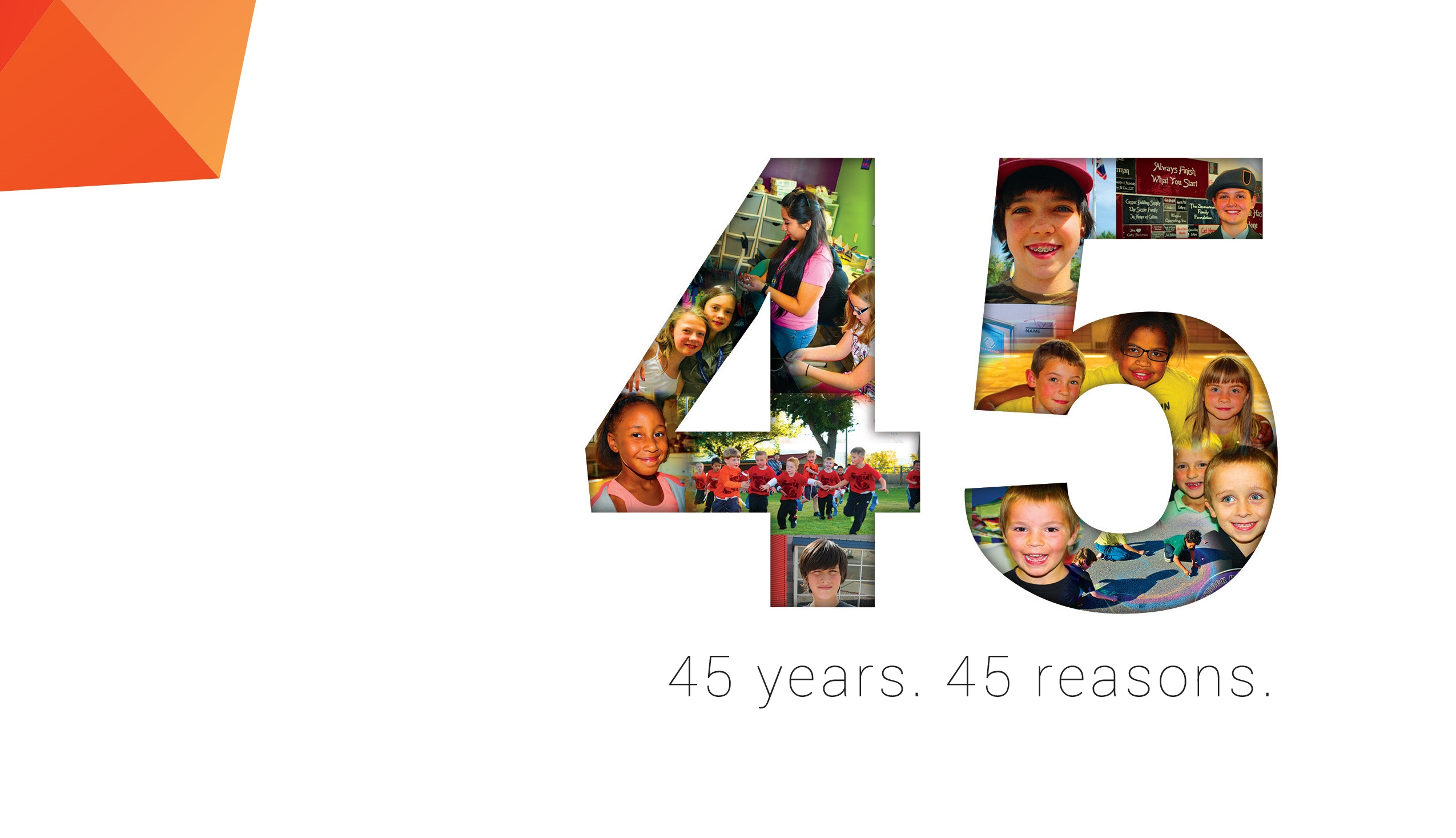 45 Years 45 Reasons To Celebrate Boys Amp Girls Clubs Of