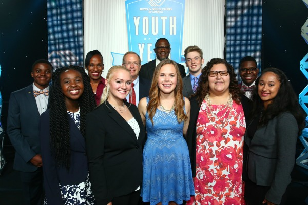 The Southwest Region's Youth of the Year contestants. (www.bgca.org)